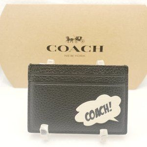 Coach Marvel Card Case with Coach Bubble